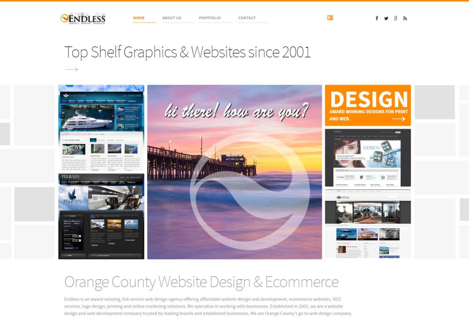 Endless Webdesign - Web Agencies in California