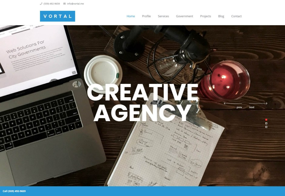Vortal - Web Agencies in California