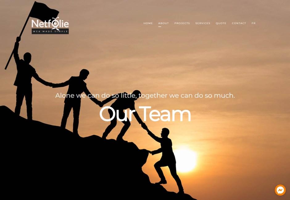 Netfolie - Web design agencies Montreal