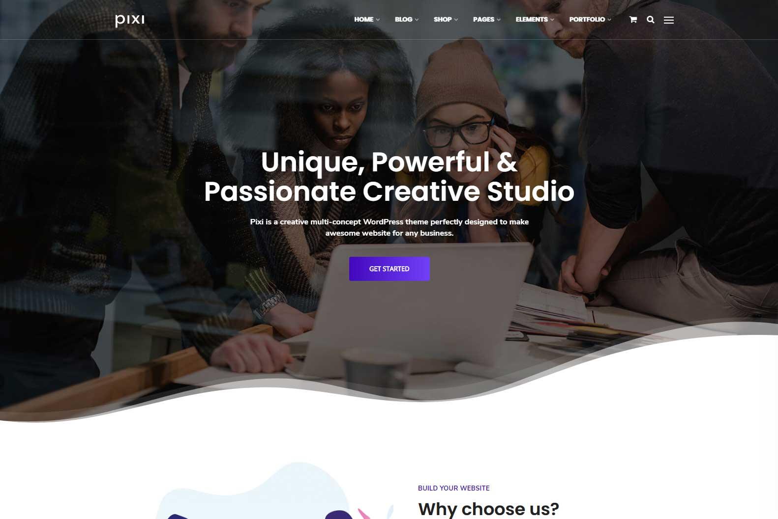 Pixi Creative 10+ Best Envato WordPress Themes for Business, Portfolio, Creatives, Blog of 2019