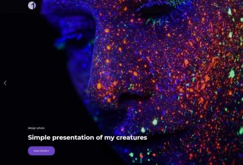 Onero Fullscreen WordPress Theme