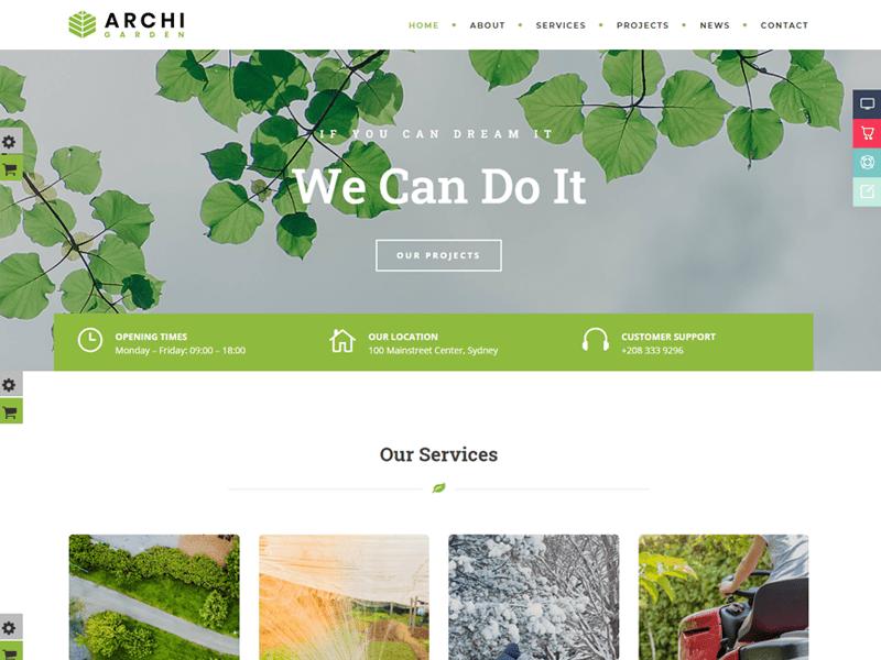 Archi Interior Design WordPress