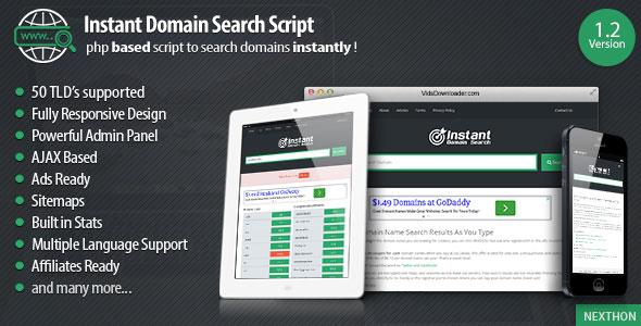 Domain Search Script v1.4