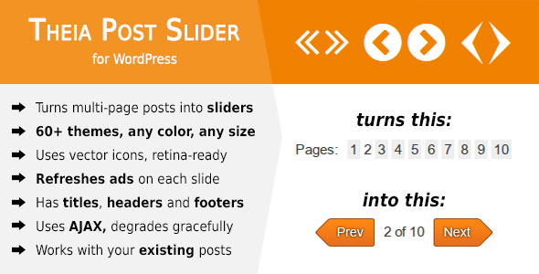 Theia Post Slider for WordPress v2.1.4
