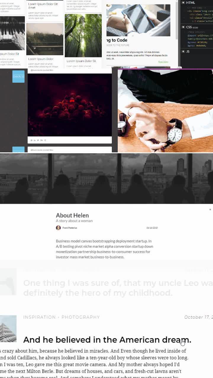 Website & Blog Archive Design Inspirations