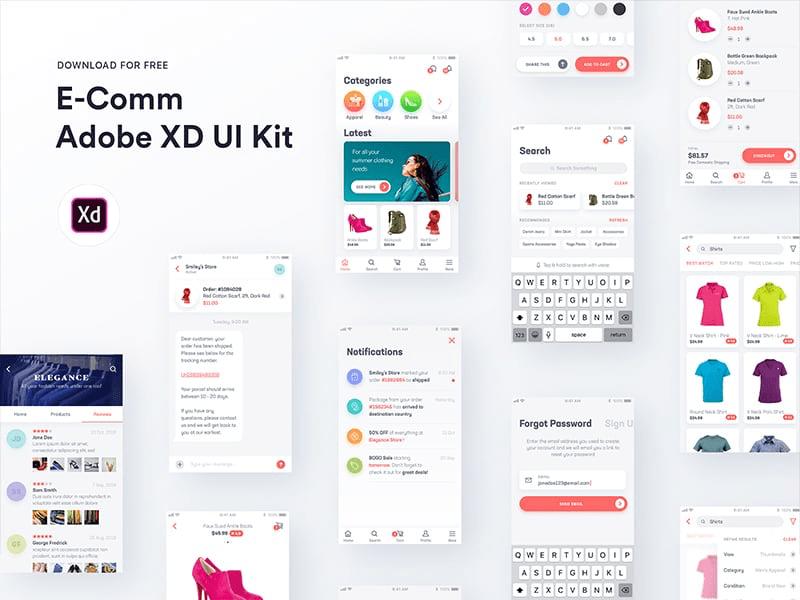 15 Amazing Free UI/UX Kits 4