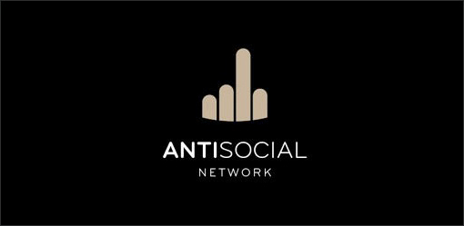 antisocial network logo