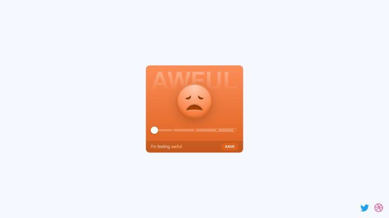 Morphing Emoji Slider