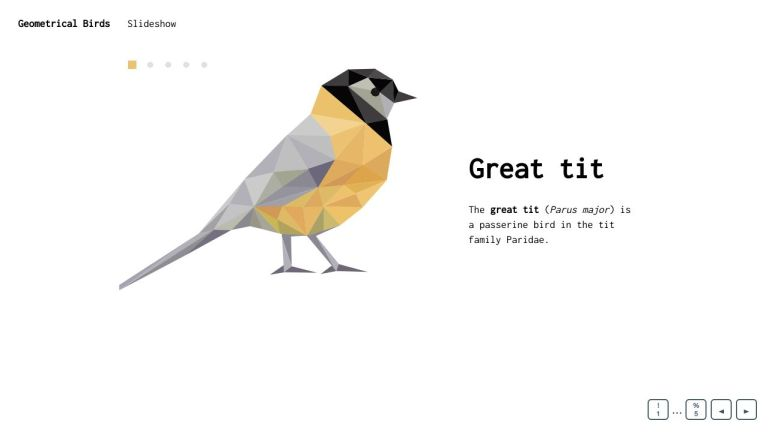 Slideshow with HTML/CSS