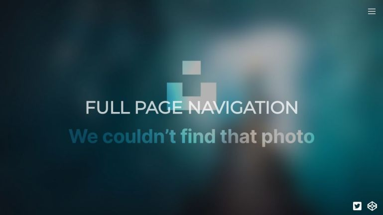Full Page Navigation