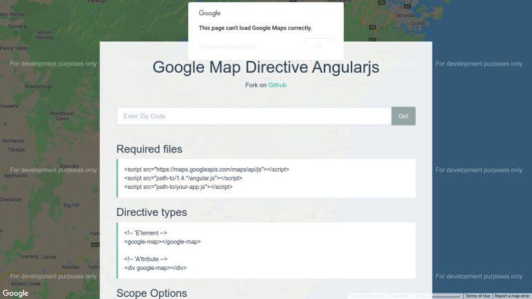 Google Map Directive AngularJS