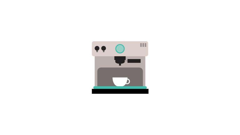 Coffee Machine Animation