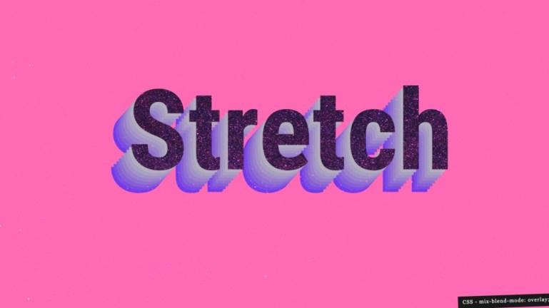 Stretch Typo
