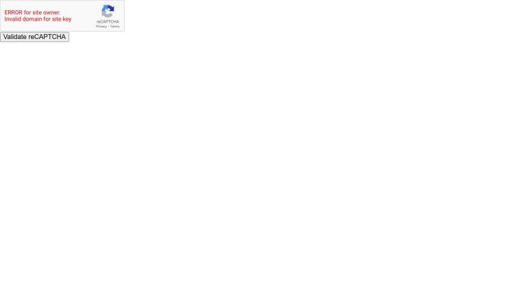 Validate Google reCAPTCHA