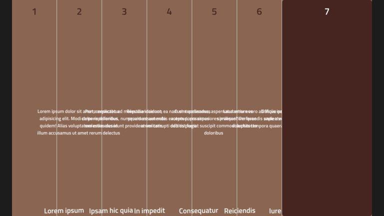 Pure CSS accordion