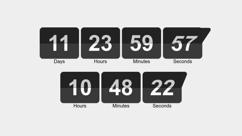 Flip Clock & Countdown