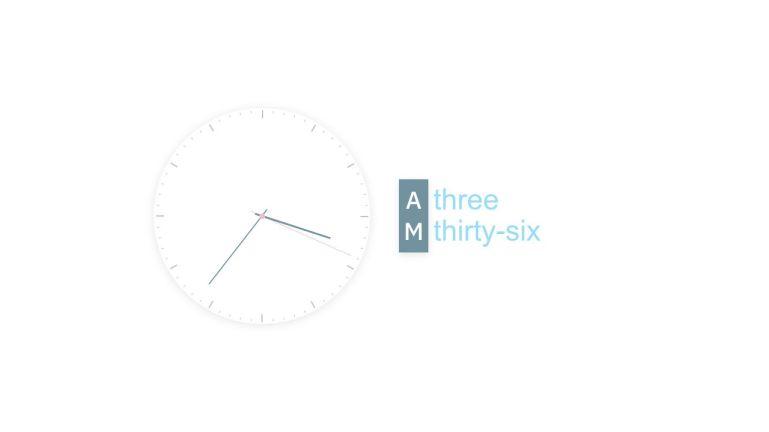 VueJS Text & Analog Clock