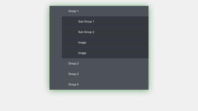CSS Multi-Level Accordion Menu