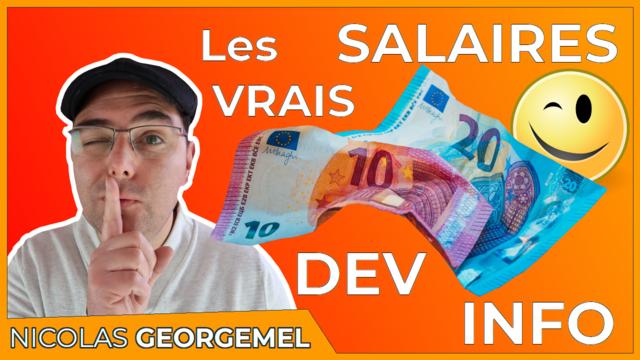 Combien gagne un développeur ?