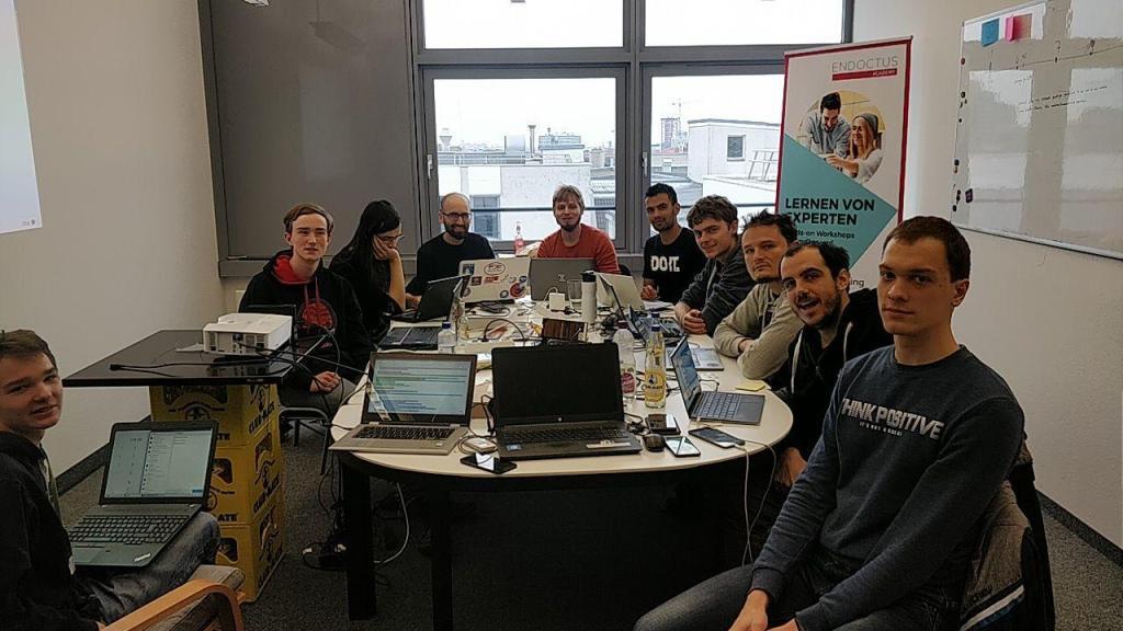 équipe de développement plasma mobile