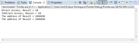 C Programming Pointer Tutorial Eclipse