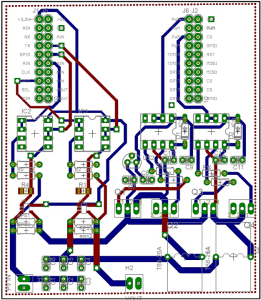C2000 Solar MPPT Tutorial PCB layout