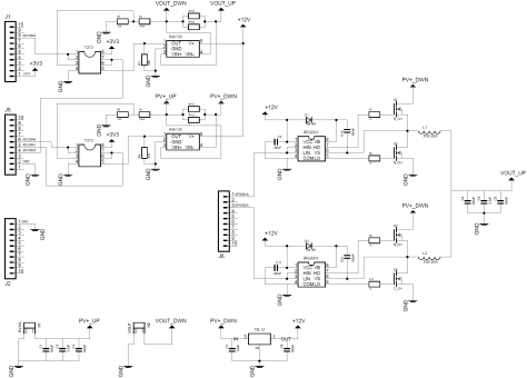 C2000 Solar MPPT Tutorial PWM and MPPT update frequency zoomed hardware schematic