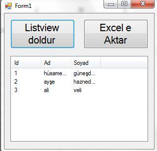 listview-excel-aktar