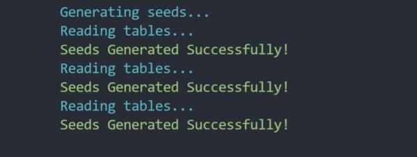 Sequeliseed - NodeJS Inverse Seeds Generator