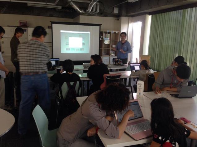 小学生・中学生向けプログラミング教室(CoderDojoさいたま第3回2014年5月18日)開催レポート