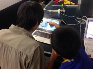 小学生・中学生向けプログラミングクラブ(CoderDojoさいたま第8回2014年10月26日)開催レポート