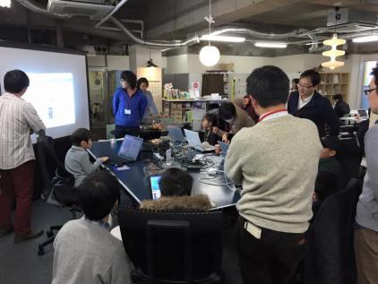 小学生・中学生向けプログラミングクラブ(CoderDojoさいたま第11回2015年1月17日)開催レポート