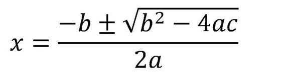 quadratic equation roots