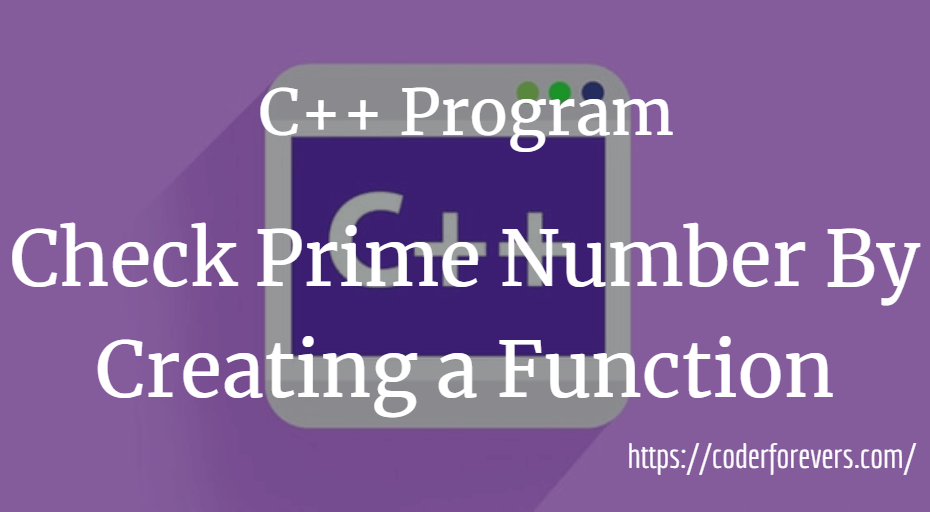 prime numbers creating function