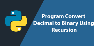 Convert Decimal number to Binary