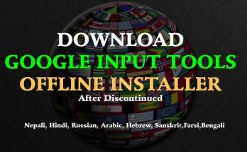 DOWNLOAD GOOGLE INPUT TOOLS OFFLINE INSTALLER After Discontinued