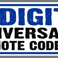 3 Digit Universal Remote Codes For TV