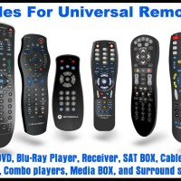 Universal Remote Control Codes