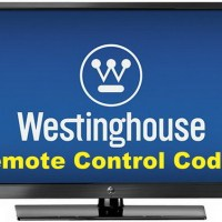 Remote Control Codes Westinghouse TVs
