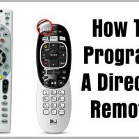 How To Program A DIRECTV Remote Control