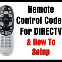 Remote Control Codes For DIRECTV (How To Setup)