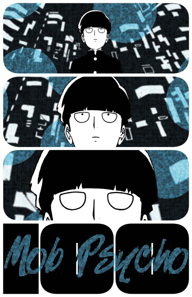 my mob psycho 100 poster
