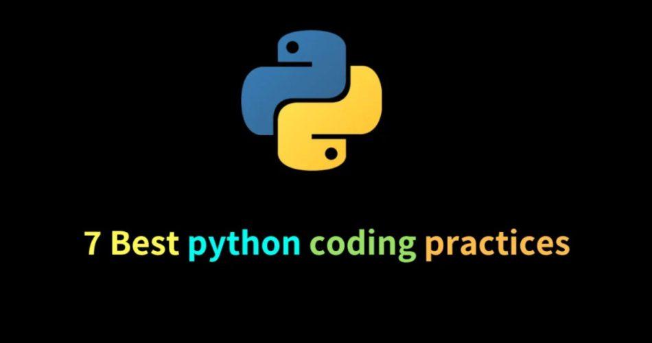 python coding practices