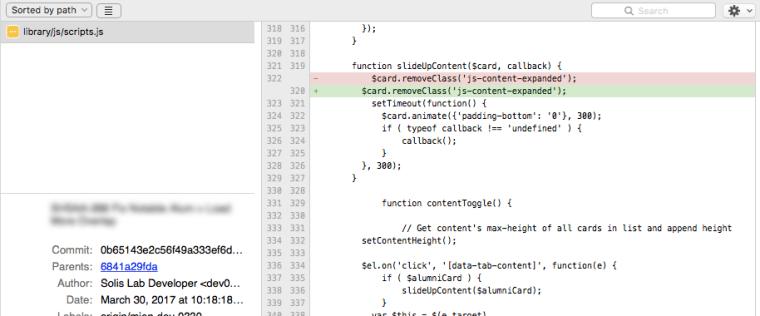 Phát hiện commit lệch dòng trên SourceTree cực dễ