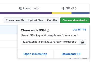 Clone project trên Github