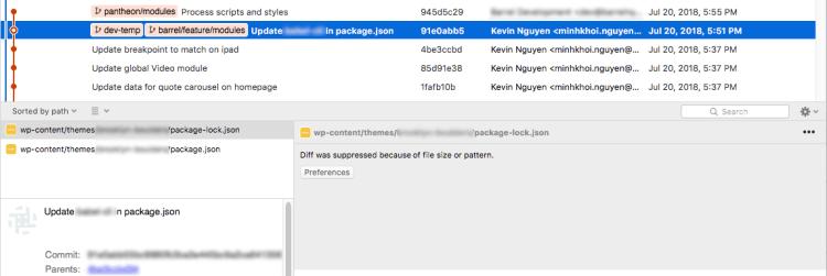 Điều chỉnh giới hạn dung lượng cho SourceTree.