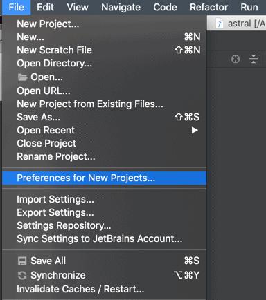 Cấu hình setting cho project mới trong PhpStorm