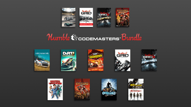 The Humble Codemasters Bundle