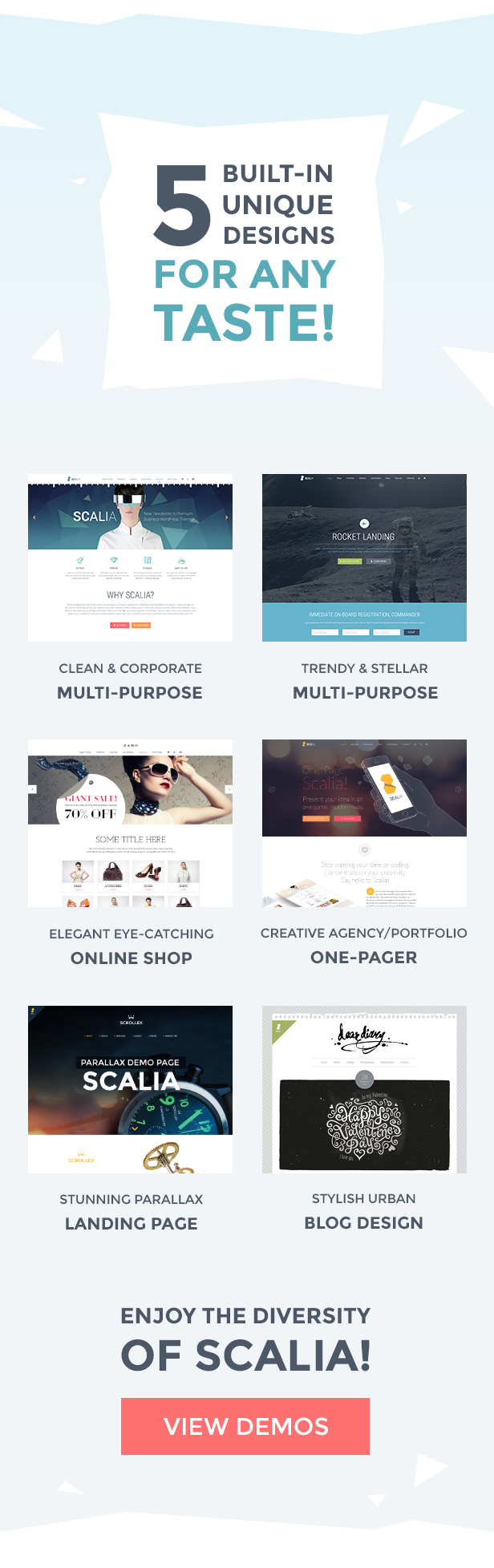 Scalia - Multi-Concept Business, Shop, One-Page, Blog Theme 1