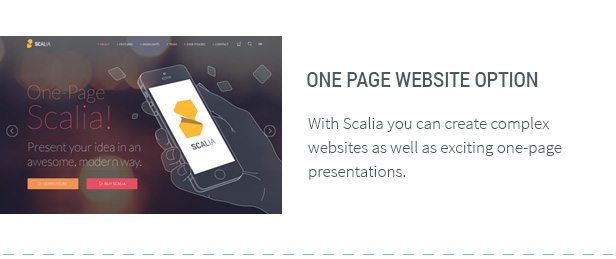 Scalia - Multi-Concept Business, Shop, One-Page, Blog Theme - 9